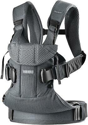 Baby Bjorn Baby Carrier One Air (Anthracite Mesh) (BabyBjorn) Free Shipping!