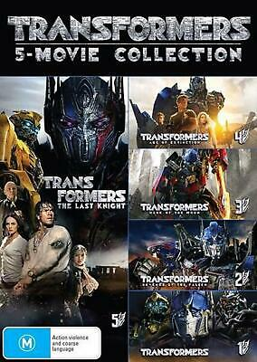 Transformers | 5 Pack: Franchise Pack - DVD Region 4 Free Shipping!
