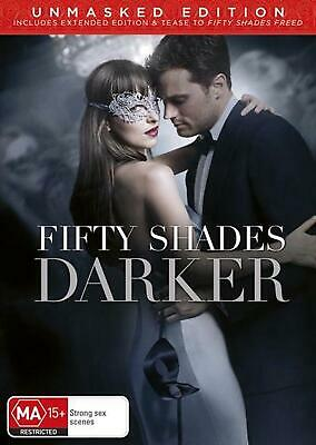 Fifty Shades Darker - DVD Region 4 Free Shipping!