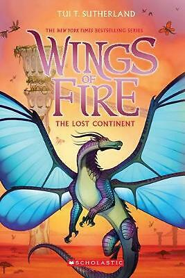 Wings of Fire #11: The Lost Continent by Tui T. Sutherland Paperback Book Free S
