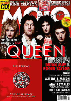 Mojo Magazine + Cd July 2019 (Queen, King Crimson, Omd, Roger Waters, Creedence)