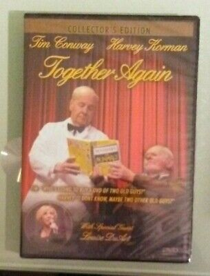 tim conway  TOGETHER AGAIN  harvey korman / louise duart DVD NEW