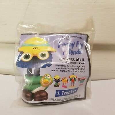 1992 Mcdonalds Happy Meal Funny Fry Friends #1 Tracker Sealed Mip