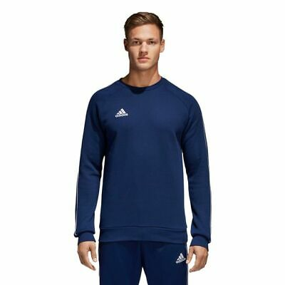 Adidas Core 18 Sweat Top Herren Pullover Sweatshirt Blau Neu