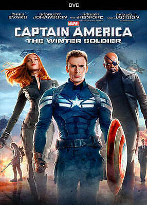 Captain America: The Winter Soldier (DVD) 2014  Brand New!   Free Shipping!