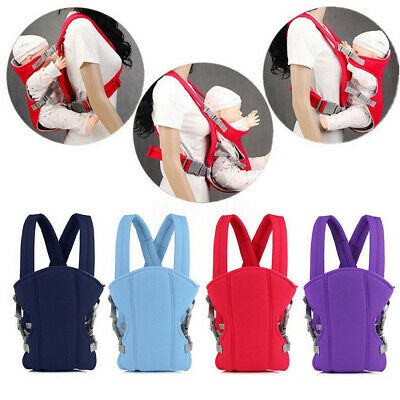 Infant Baby 3 In 1 Carrier Ergonomic Adjustable Breathable Wrap Sling Backpack