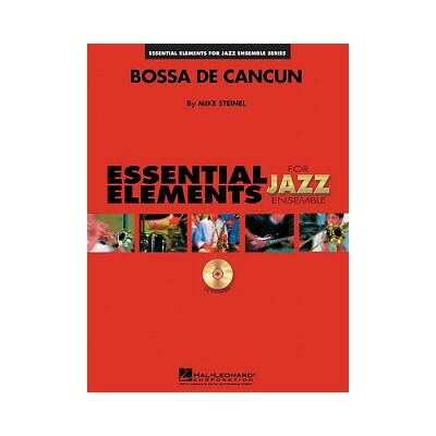 Hal Leonard Bossa de Cancun Jazz Band Level 1-2 Composed by Mike Steinel