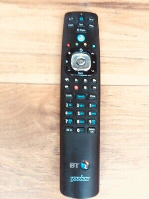 Remote Control Youview+  Humax BT T4000 & T2100 RC3124705/04B LATEST MODEL