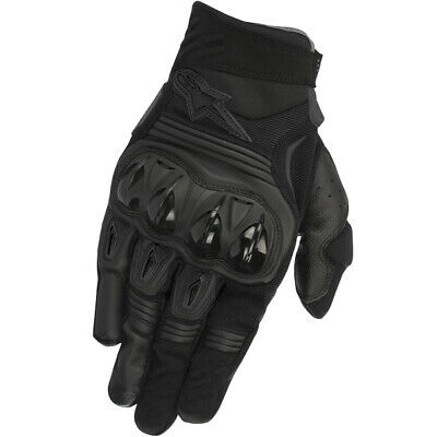 2018 Alpinestars Megawatt Hard Knuckle Gloves - Black