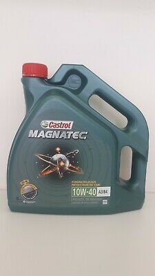 Castrol Magnatec 10W-40 A3/B4 Synthetic Car Engine Motor Oil - 4 Litre