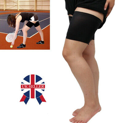 Pair Anti Chafing Thigh Bands Elastic Non Slip Leg Comfort Running Sports W