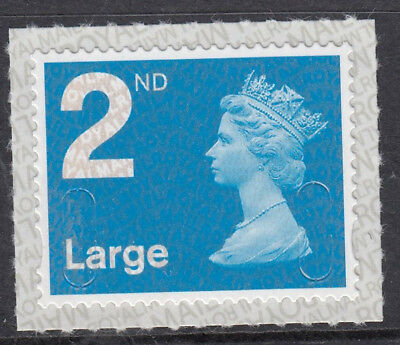 GB 2017 2nd LARGE S/ADHESIVE CODE M17L MACHIN SBP2i MNH From Counter Sheet