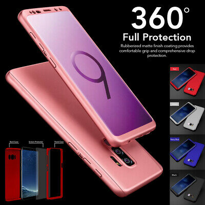 New ShockProof Hybrid 360 TPU Case Cover For Samsung Galaxy S9