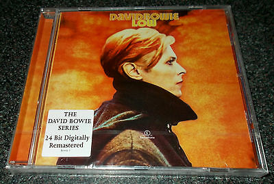 DAVID BOWIE-LOW-CD 1999-24bit REMASTERED-BRIAN ENO-SOUND AND VISION-NEW & SEALED