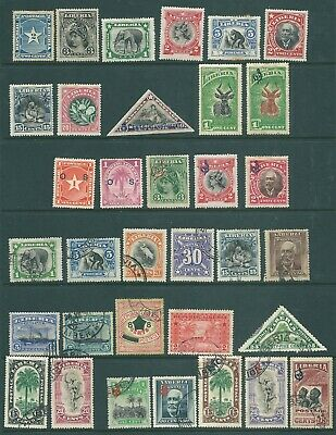 LIBERIA mint and used stamp collection 1892 onwards