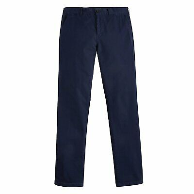 Joules Laundered Chino Trousers French Navy
