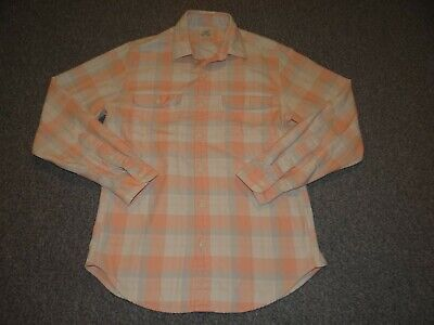 aa2f4395 J CREW Women's Pink/White Button-Down Checkered Flannel LS Cotton Shirt Sz  SMALL