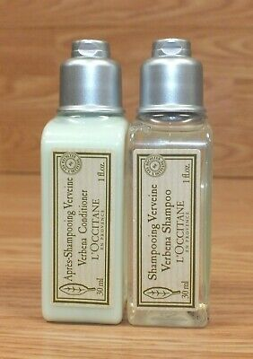 L'Occitane Apres-Shampooing Verveine Verbena Shampoo & Conditioner *Lot of 2*