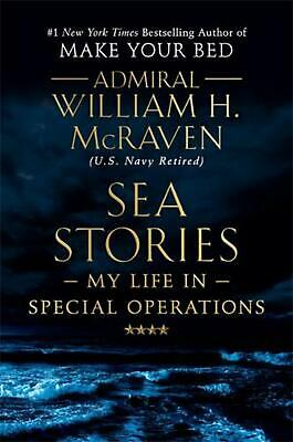 Sea Stories by Admiral William H. Mcraven (English) Hardcover Book Free Shipping
