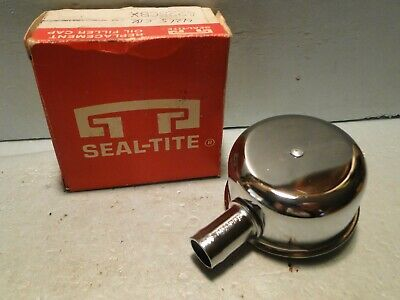 1965-68-70-71-73-74-1977 AMC Jeep Olds Seal-Tite Chome Oil Breather Cap NOS PVC