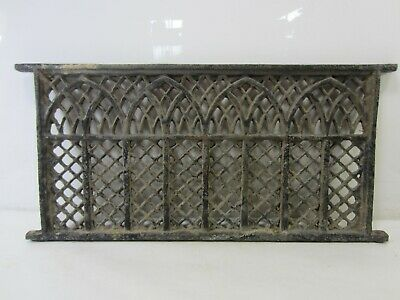 Antique Cast Iron Architectural Salvage Window? Well Grate #1