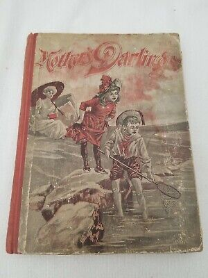Antique Vintage Victorian Childrens Book- Mother's Darlings 1902 by E.A Allen