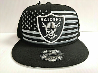 sports shoes dc3f9 ab768 Oakland Raiders Cap New Era 9Fifty Snapback 2019 On Stage NFL Draft Day Hat