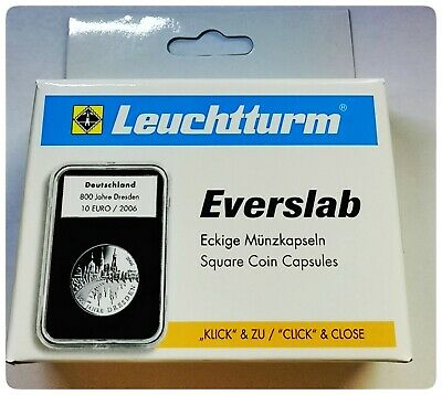 Lighthouse EVERSLAB coin capsules cases 39mm, 40mm