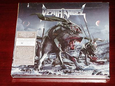 Death Angel: The Dream Calls For Blood - Deluxe Edition CD + DVD Set 2013 NB NEW