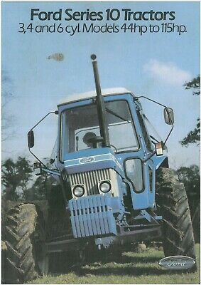 Ford Tractor 2910 3910 4110 4610 5610 6610 6710 7610 7710 8210 Brochure