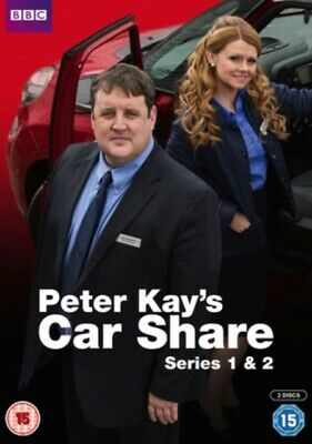 NEW Peter Kays Car Share Series 1 to 2 DVD