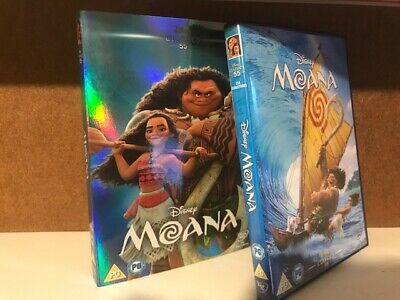 Moana DVD (Walt Disney 55th Animated Classic) With O Ring Slip Sleeve Cover