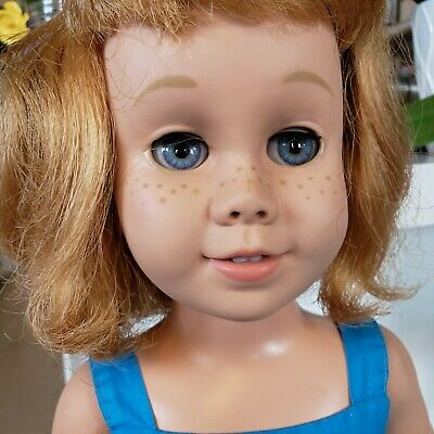 1960'S CHATTY CATHY DOLL PROTOTYPE Blonde hair Blue eyes SOFT FACE Vintage
