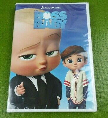 The Boss Baby (DVD, 2017) BRAND NEW SEALED
