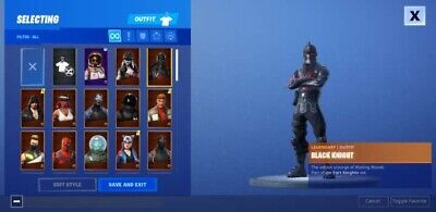 fortnite account full access with Rare Skins...