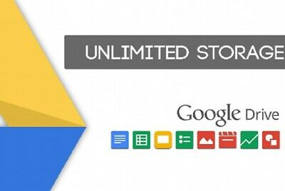 Google Drive Unlimited Storage On Existing Acc Lifetime