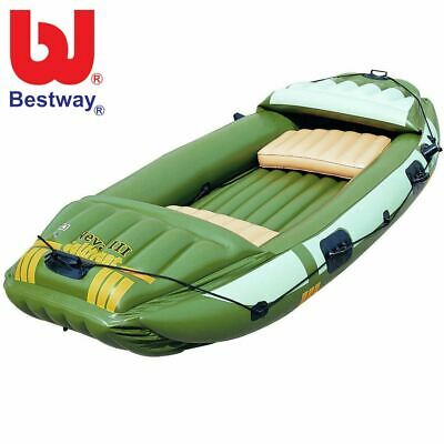 Bestway Canot Neva III Campro Gonflable Kayak Angelboot Barque Bateau