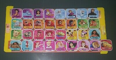 Woolworths Disney Word Tiles x 33 + Toy Story Magnetic Board Bulk