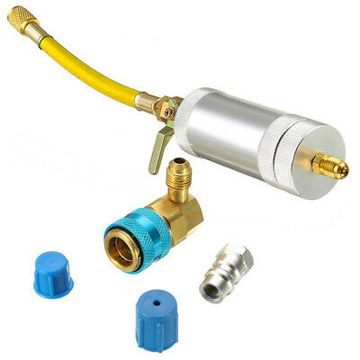 CAR A/C OIL & Dye Injector+Low R22 R134A Quick Coupler Adapter Kit