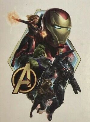 """Marvel Avengers Endgame WALL DECALS 24""""x18"""" Mural Stickers Kid Room Decoration"""