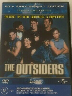 The Outsiders (20th Anniversary Edition ) DVD