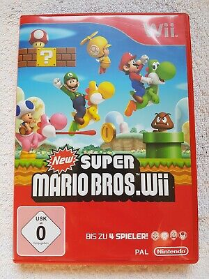 New Super Mario Bros Nintendo Wii