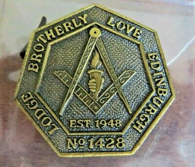 MASONIC MARK PENNY Token - Lodge Kirkwall Kilwinning No 38 2