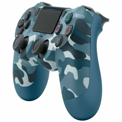 Sony Official Dualshock 4 Controller (BLUE CAMO) (PS4) Brand New & Sealed #