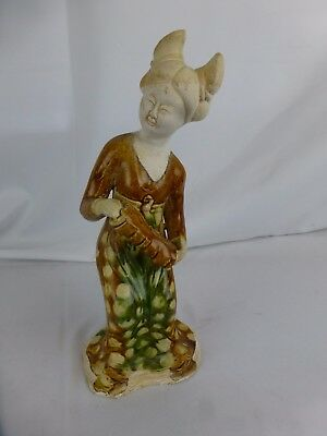 Nice vintage large chinese ceramic figurine ca. 1960s [Y8-W8-A8]