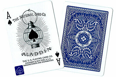 Vintage Aladdin 1001 Playing Cards [Doubled-sided]