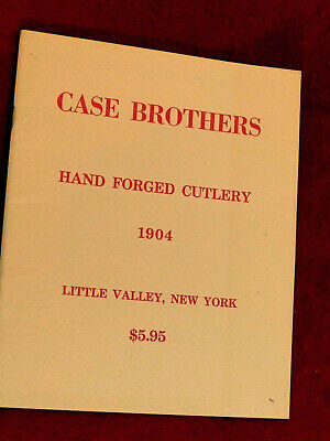 vintage reprint of Case Brothers 1904 40 page catalog-Lots of illustrations!