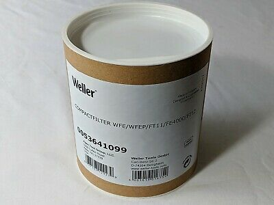 Weller 0053641099 Replacement Compact Gas Filter Catridge for WFE WFE2P FE 4000