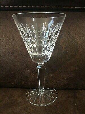"Waterford Glenmore Cut Crystal Water 7"" Stemware Goblet"