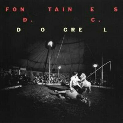 FONTAINES D.C. Dogrel CD Europe Partisan 2019 11 Track In Digipack (Ptkf21662)
